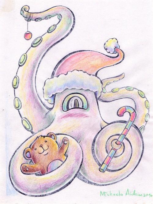 michaela_aidam_weihnachtskraken_klein